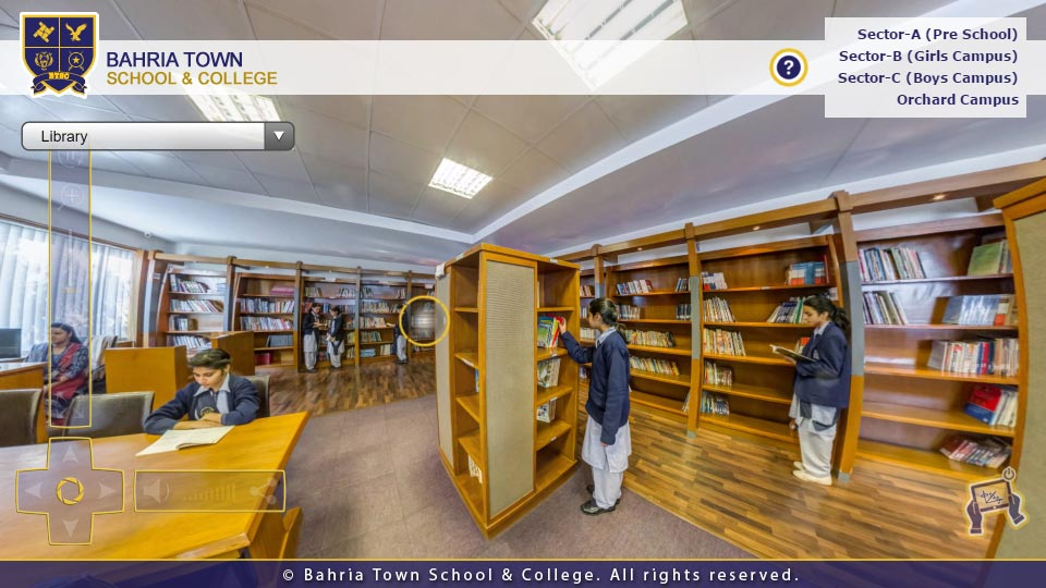 bahria town school college 360folio interactive