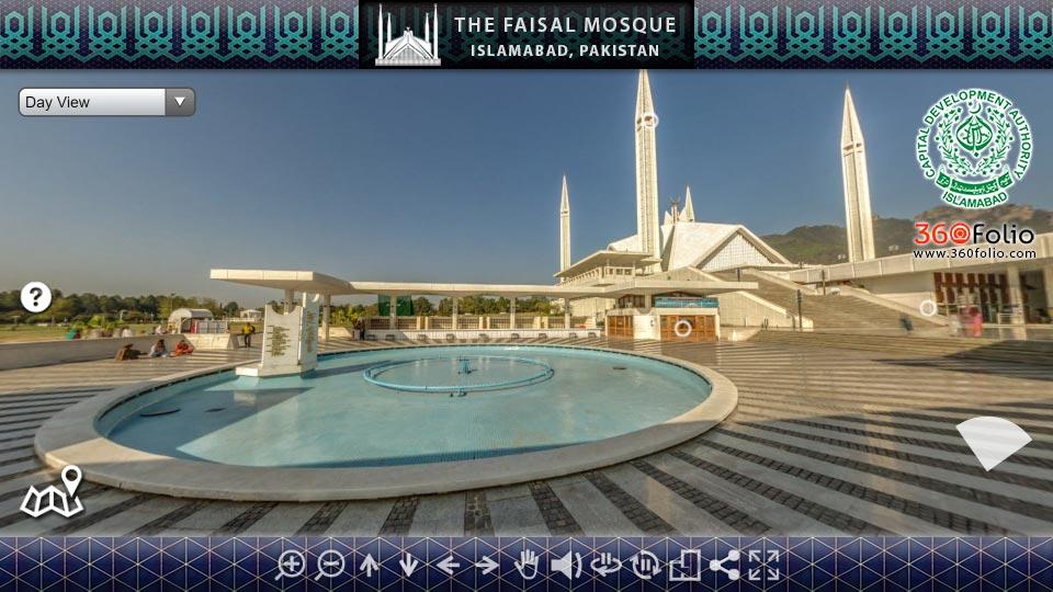 The Faisal Mosque - 360Folio Interactive